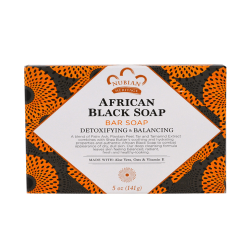 Nubian Heritage African Black Soap Bar -142g