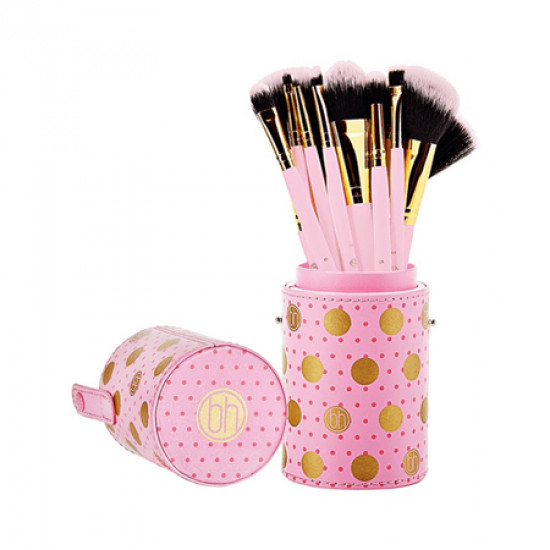 BH Cosmetics Pink Dot Collection Brush