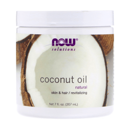 Now Solutions Coconut Oil - 207ml