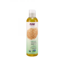 Now Foods Organic Sesame Seed Oil for Body by - 237ML