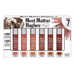 The Balm Meet Matte Hughes Set of 6 Mini Lipsticks - Vol7