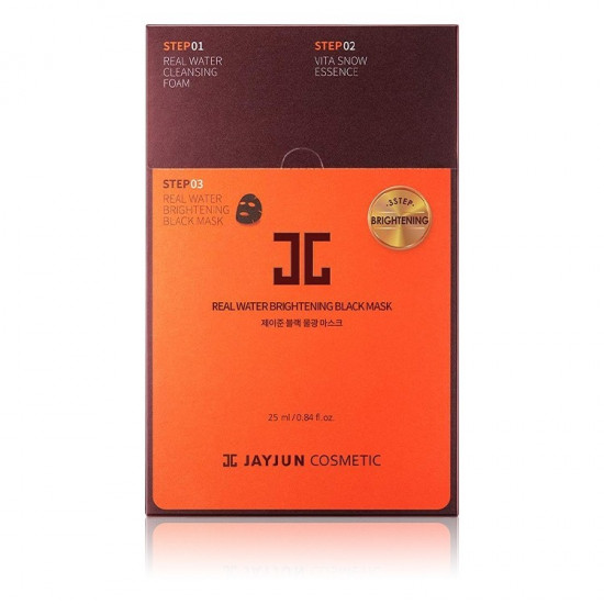 JAYJUN Real Water Brightening Black Face Mask - 25 ml